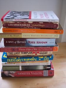 books so far