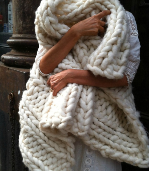 merino throw