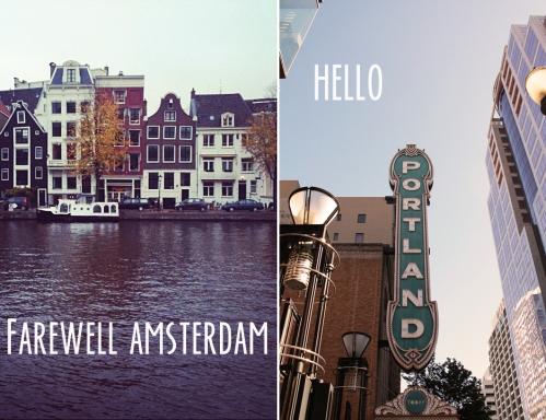 Amsterdam to Portland