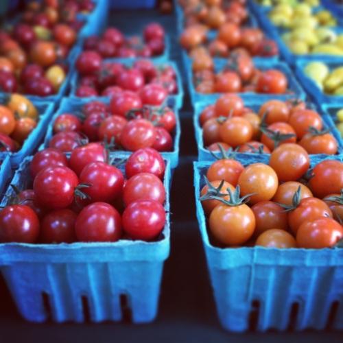 organic tomatoes